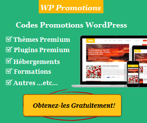 WP Promotions est un site web qui répertorie différentes promotions WordPress.